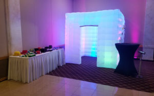 NWI Photo Booth Rental LED Inflatable Photo Booth